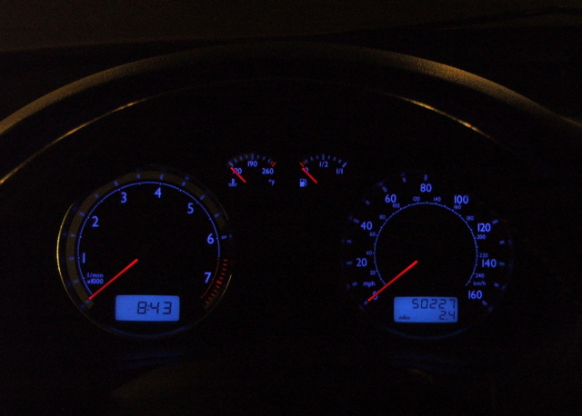 past 50k miles