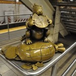 nyc #17 - life underground - tom otterness
